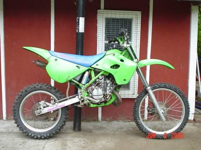 Dirt Bike Snowmobile >> For Sale 1991 KX80 T1(big wheel) dirt bike ALASKA