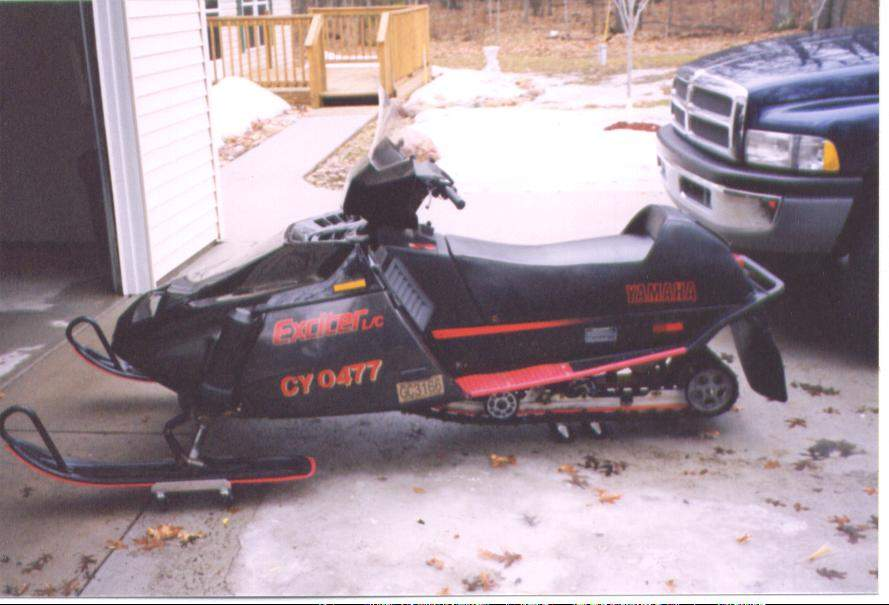 I Need Some Info On A 1987 Yamaha Exciter 570