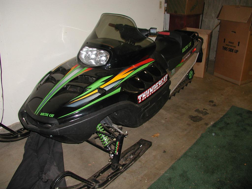 For Sale 2000 Arctic Cat Thunder Cat 1000 Triple