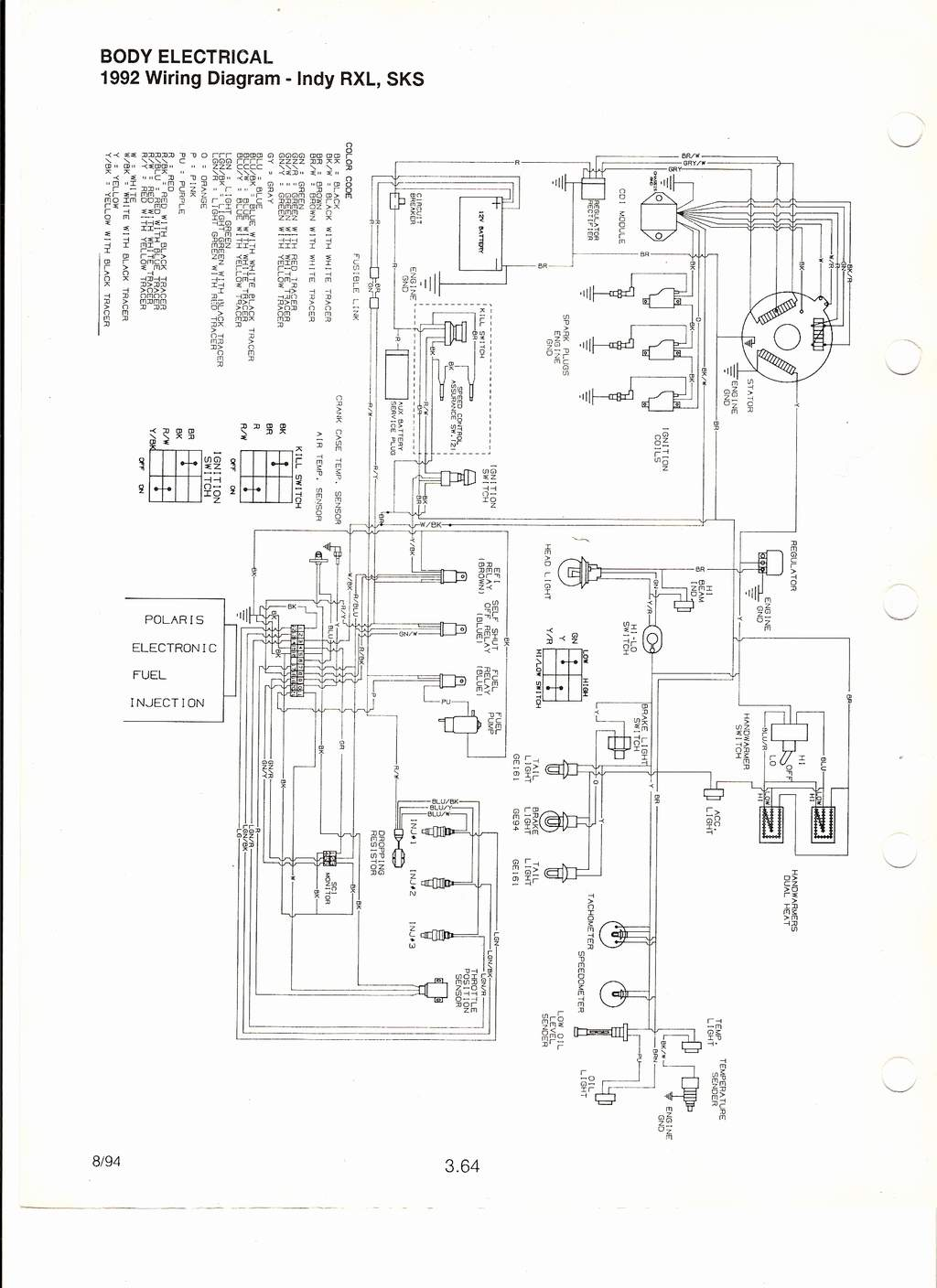 Polaris 650 Wiring Diagram Libraries Todays650 Rxl To Carb Conversion Ignition System