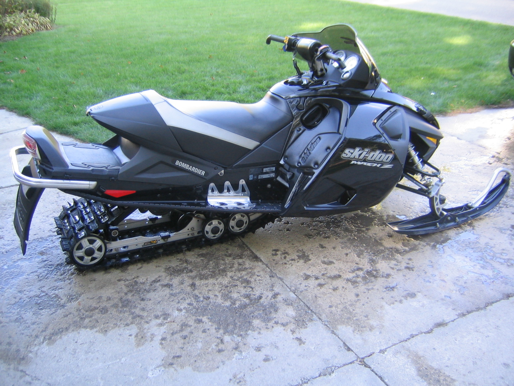 2005 mach z 1000 with electric startpush button reverse attachment 129101 sciox Images