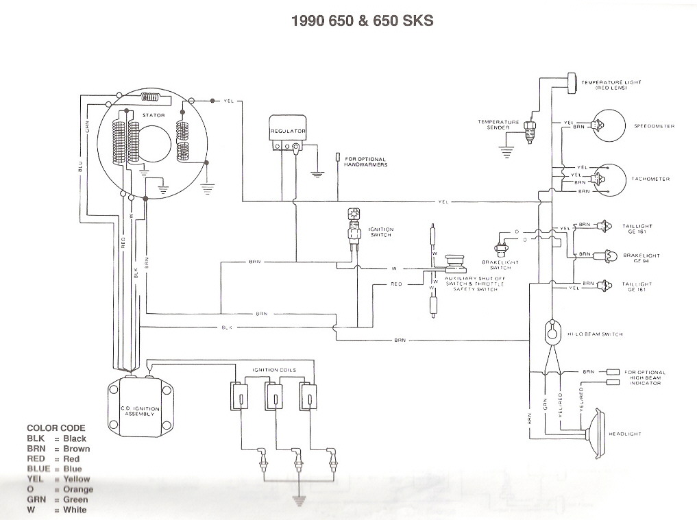 Polaris Indy 440 Wiring Diagram