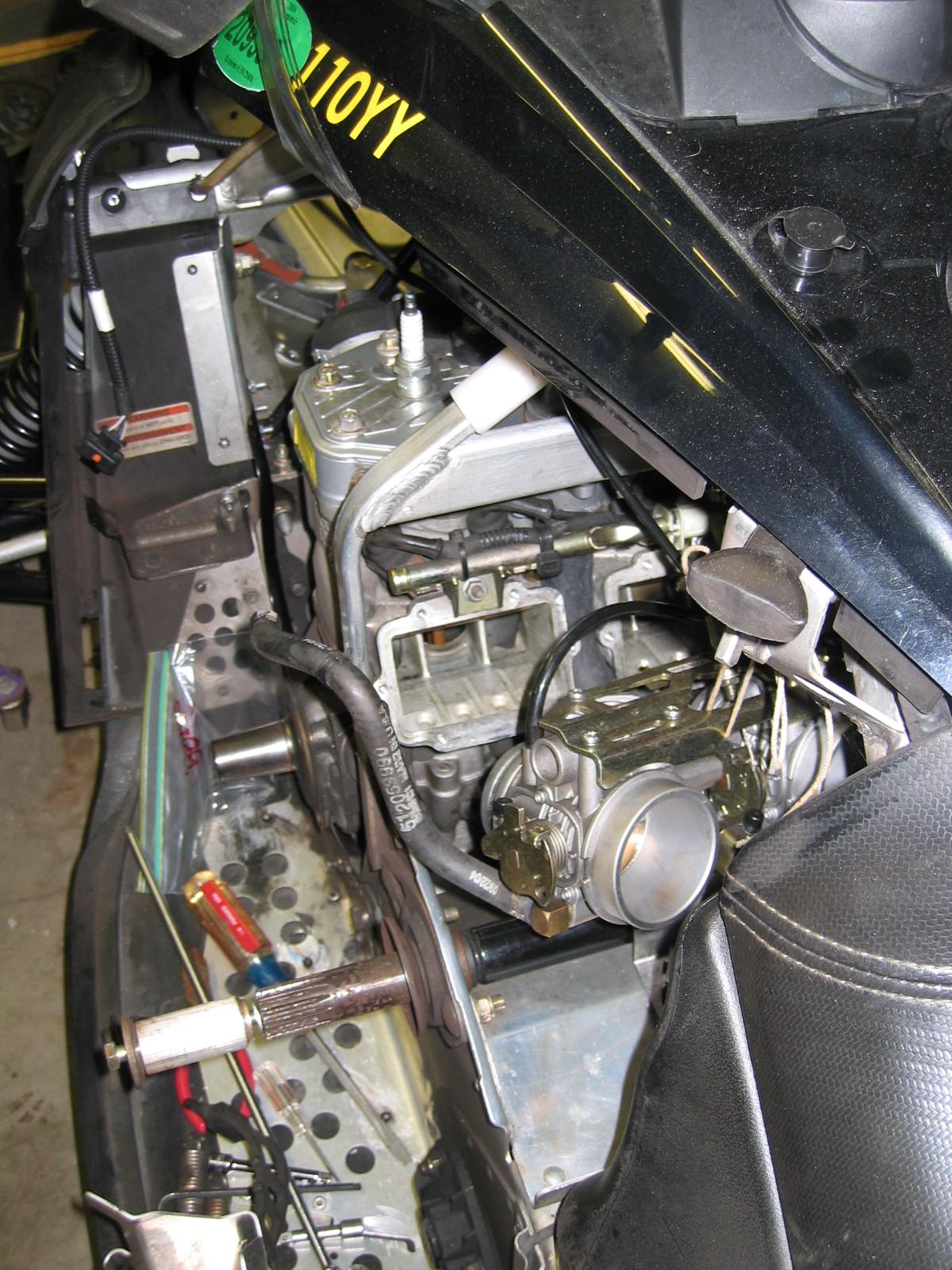 Oil In Coolant >> '05 600 sdi engine rebuild project