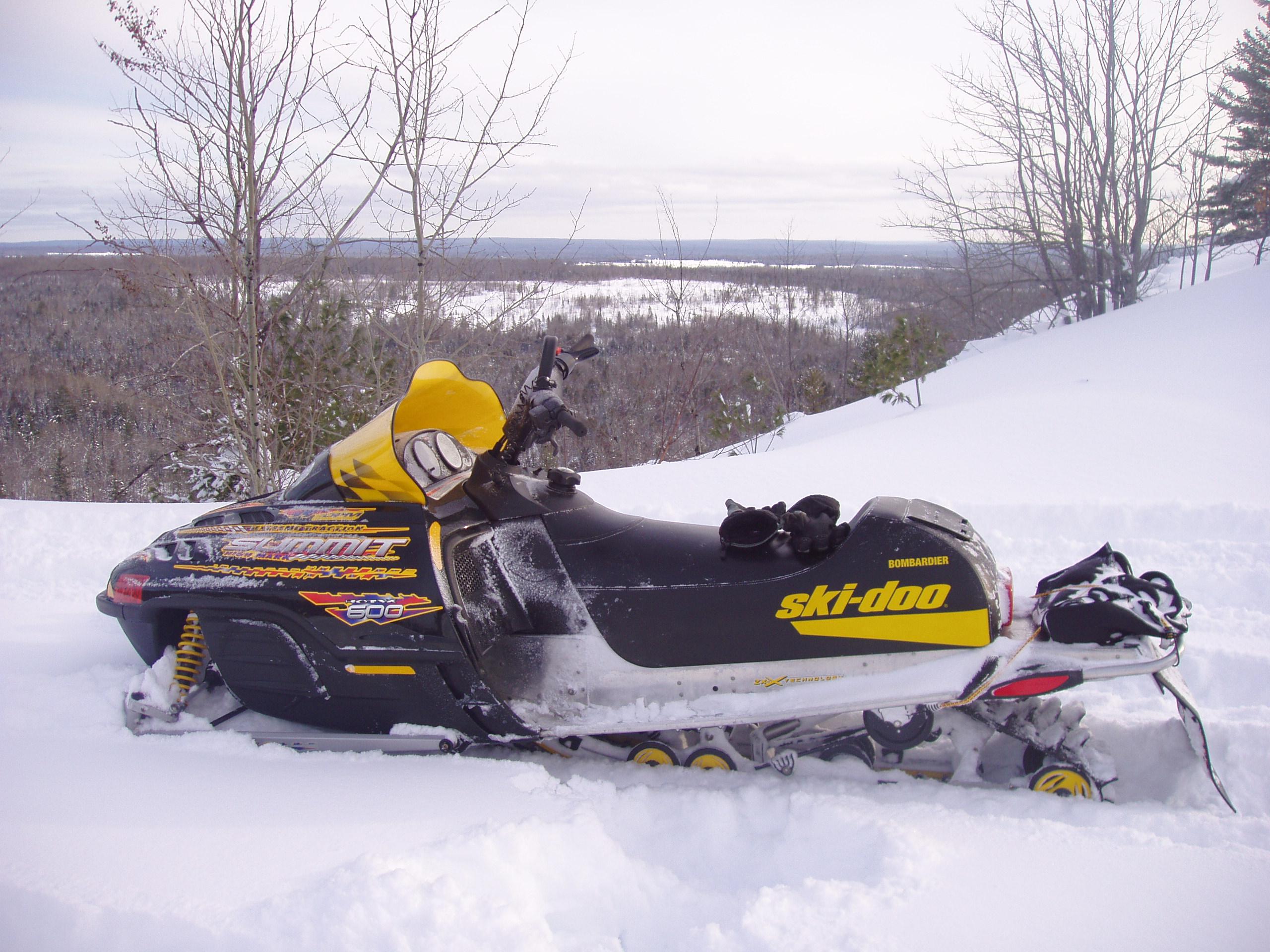summit 2002 600 skidoo 800 144 doo ski horsepower attachment mountain sleds powder everyone cadillac thread snowmobilefanatics forums