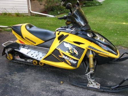 2003 Skidoo Rev 600 Ho