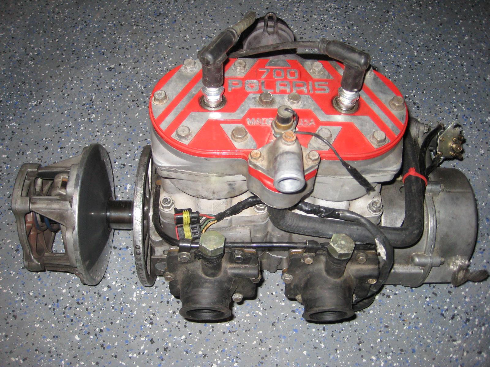 1998 Polaris 700 Twin Motor