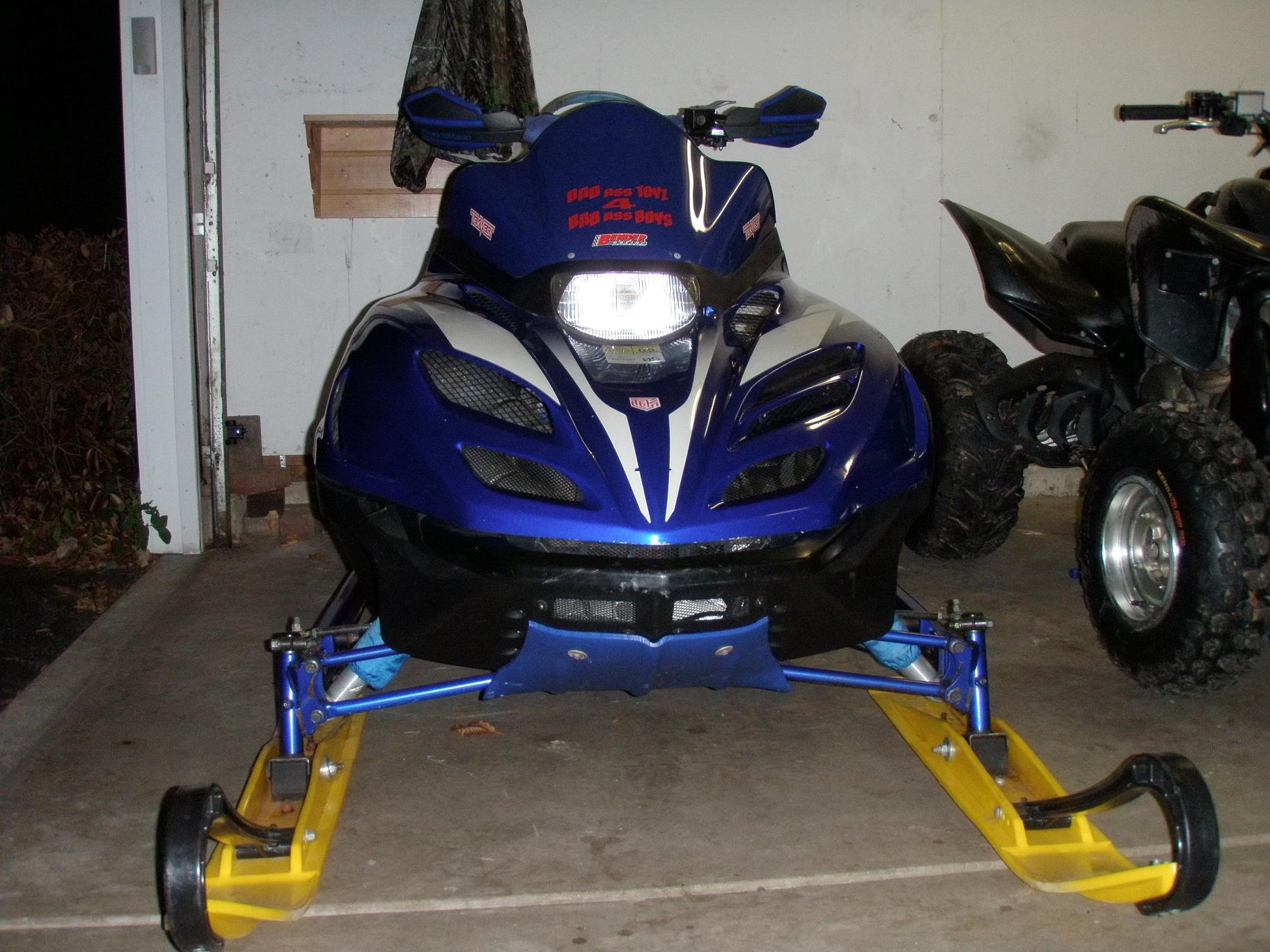 1998 Yamaha SRX Moutnain Max