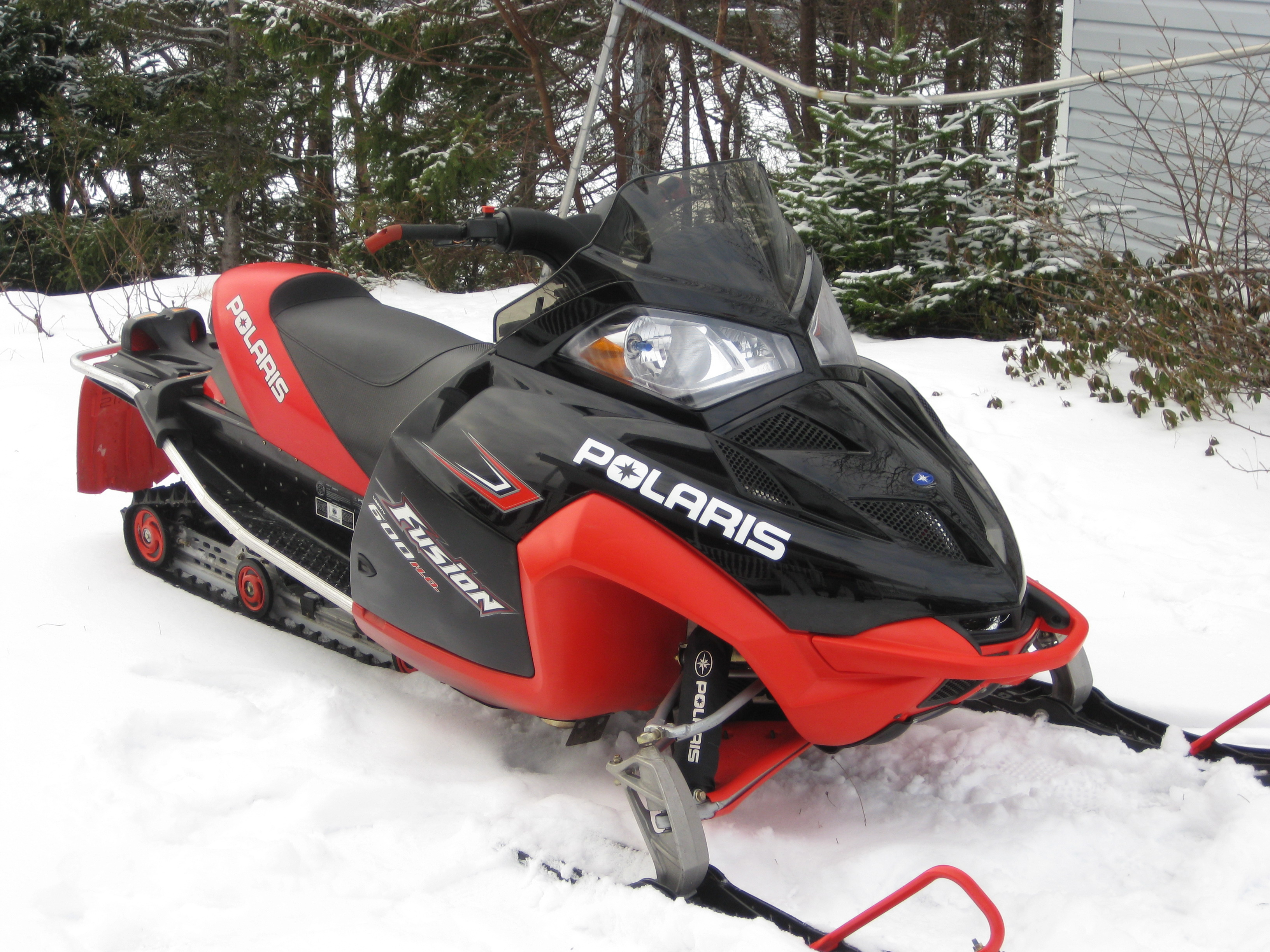Polaris Side By Side >> 2006 600 fusion/switchback