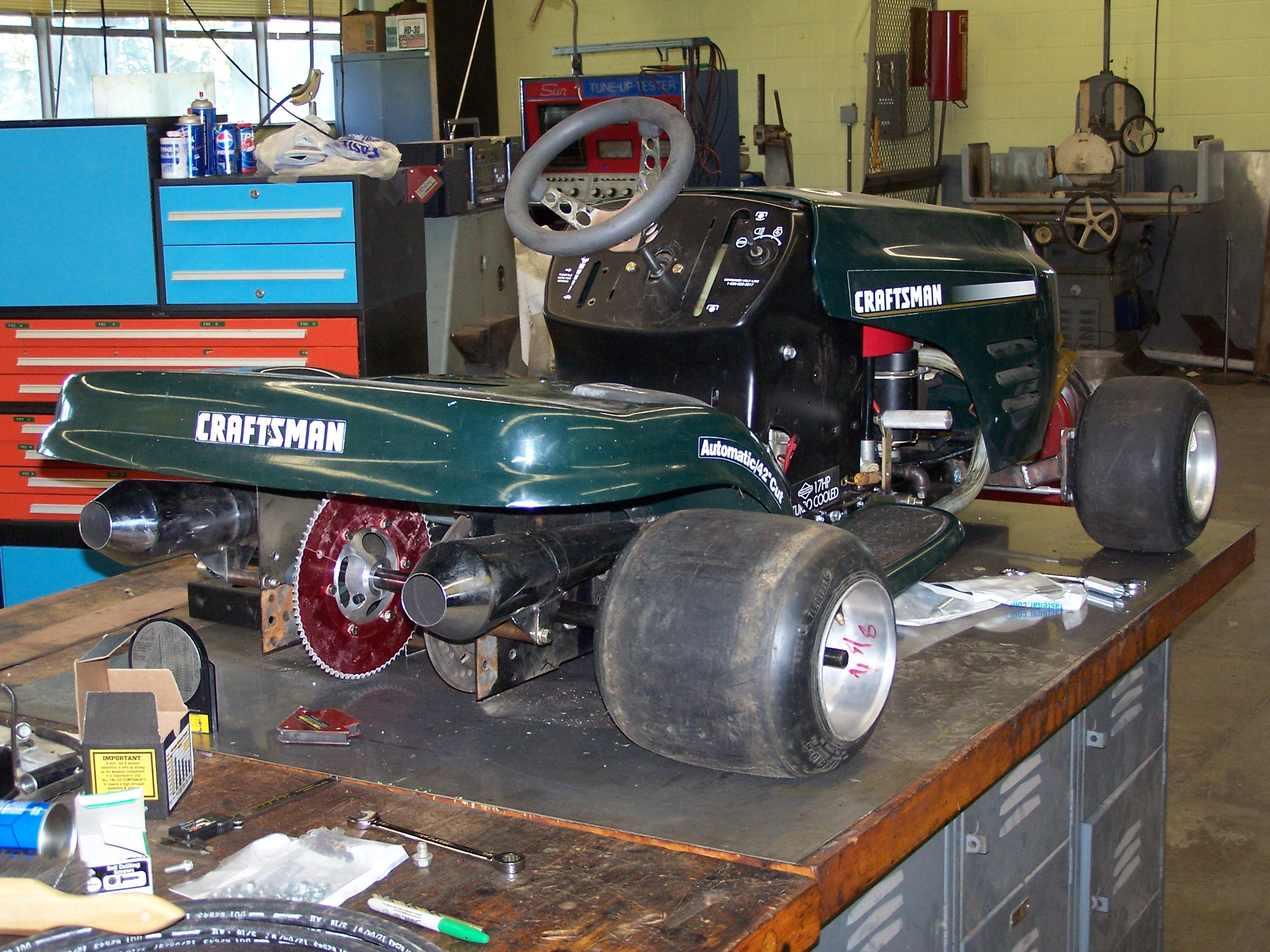 How To Build A Racing Lawn Mower Better Life