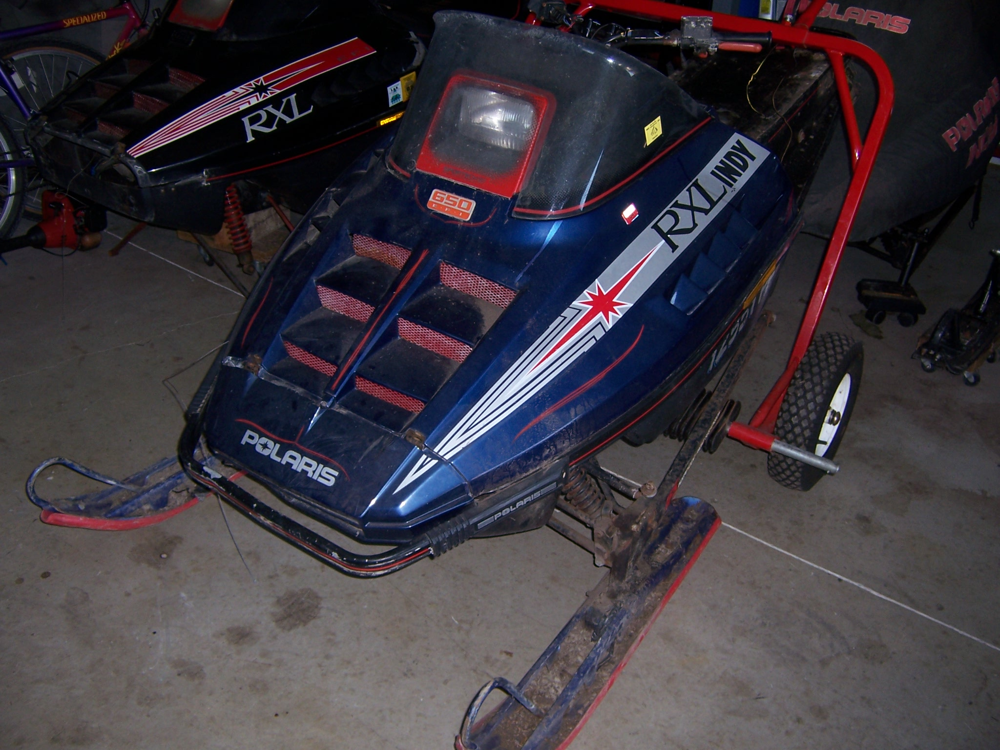 Parting Out 1991 Polaris Rxl 650
