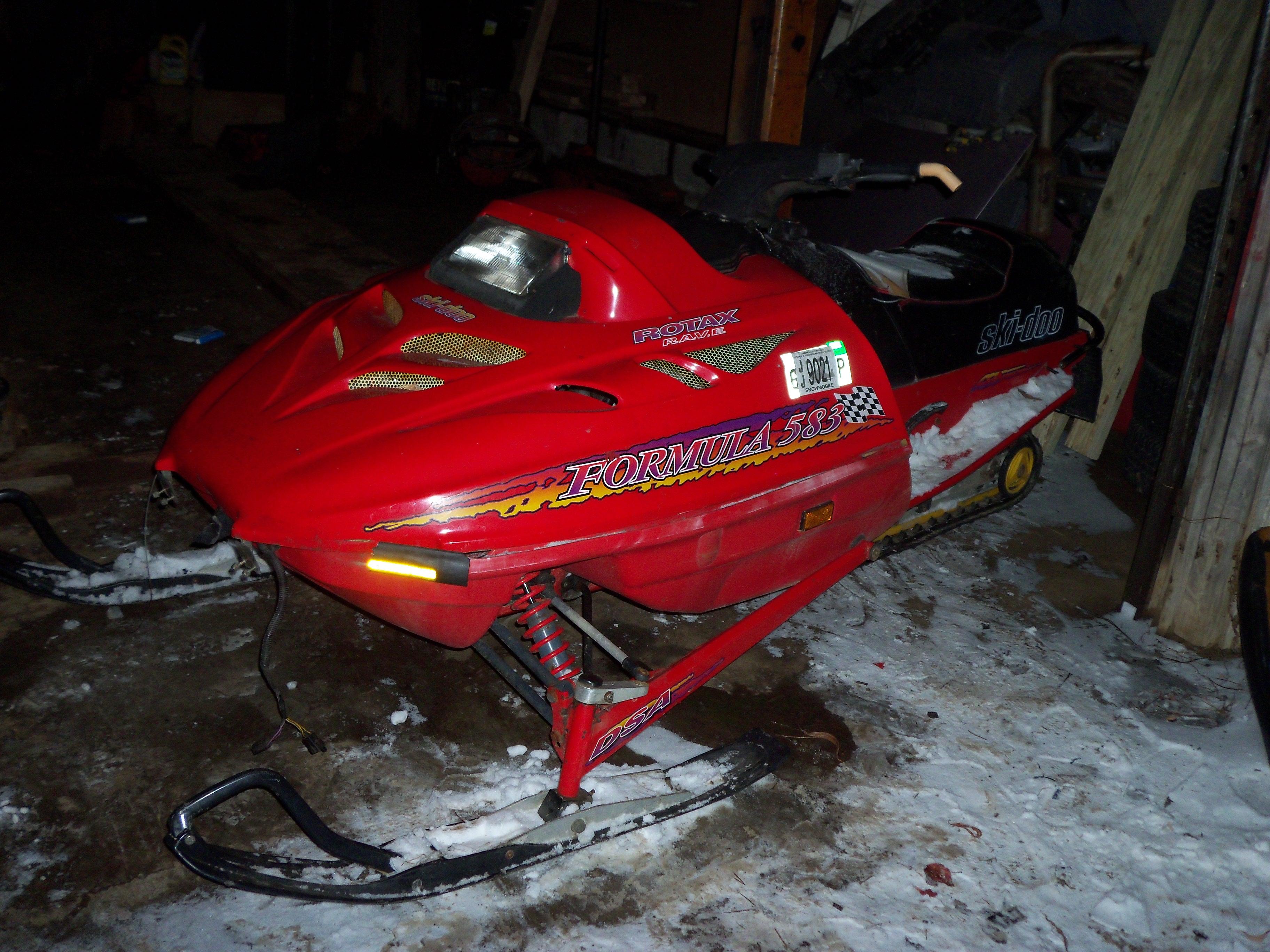 Ski Doo Engine Swap