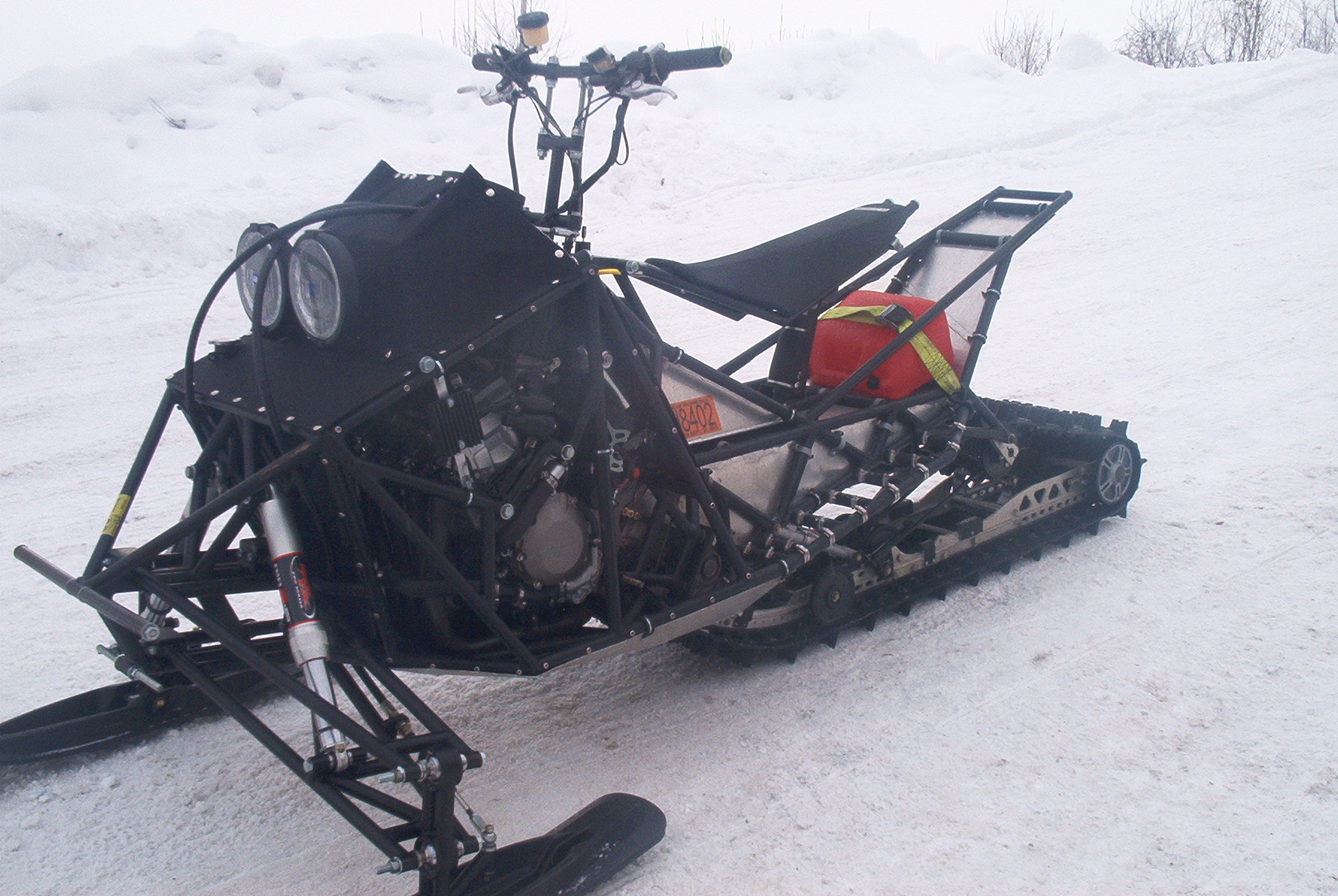 Custom Made Snowmobile Page 2