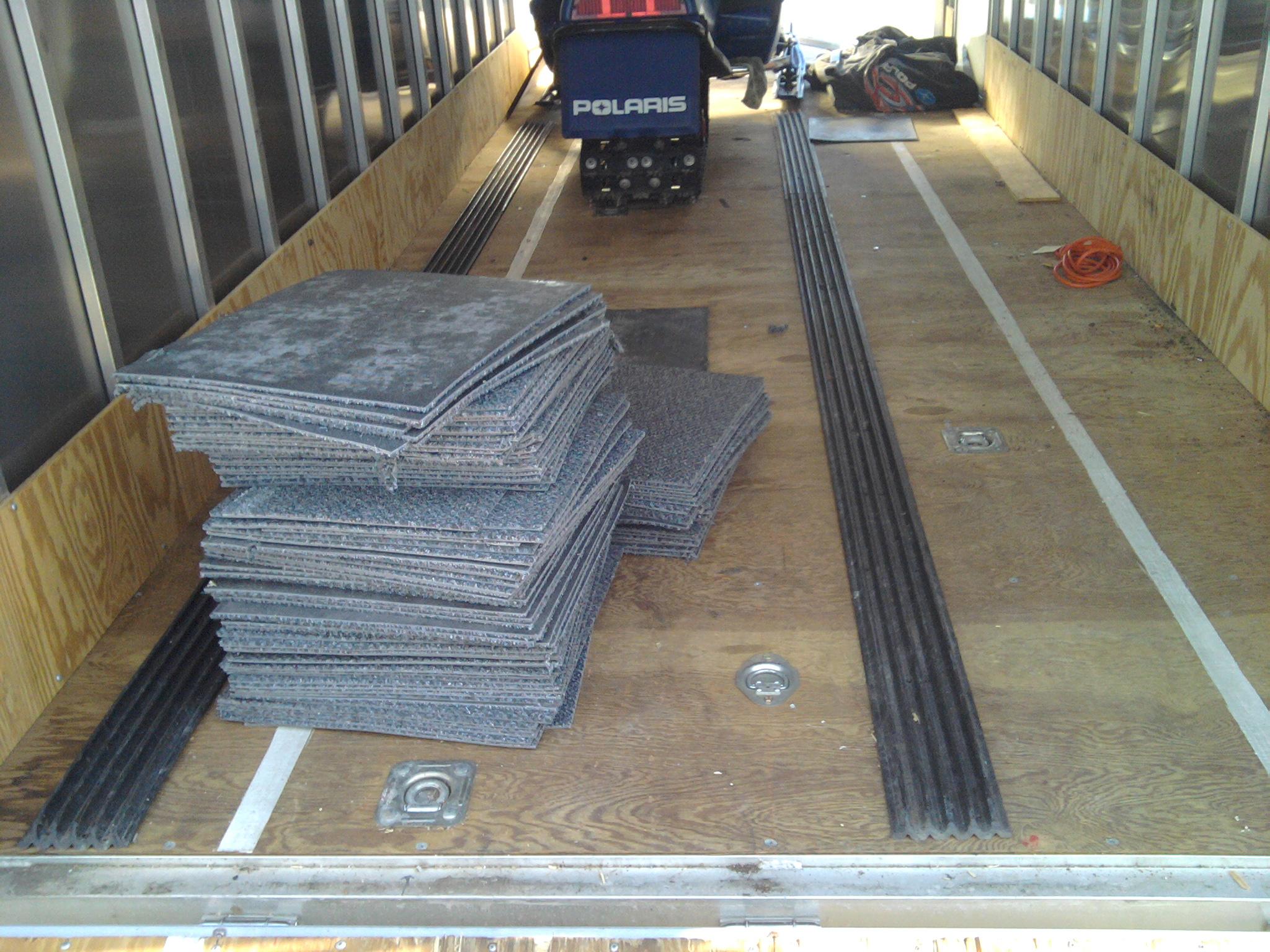 Snowmobile Trailer Flooring - Flooring Ideas and Inspiration