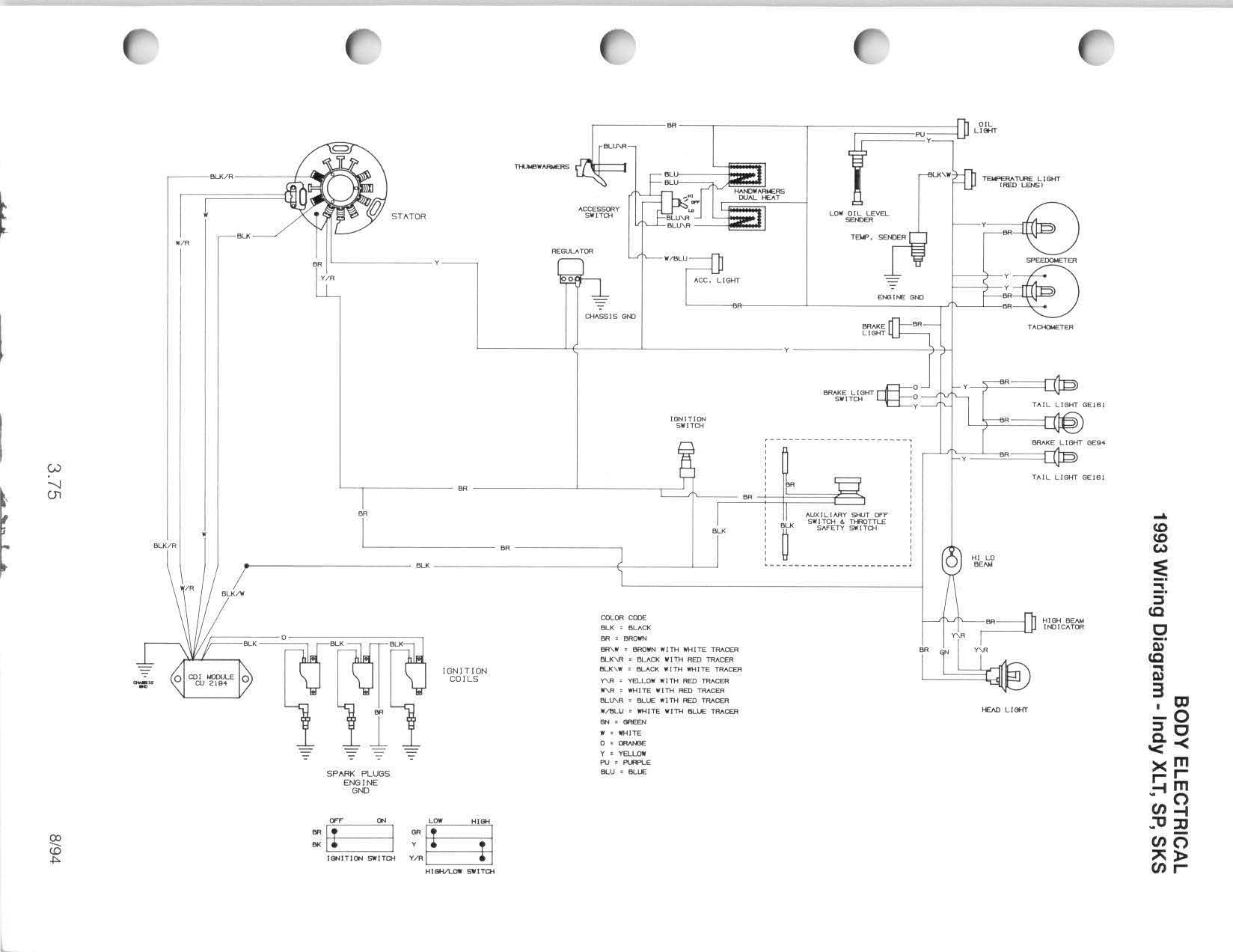 Wiring Diagram Arctic Cat Snowmobile