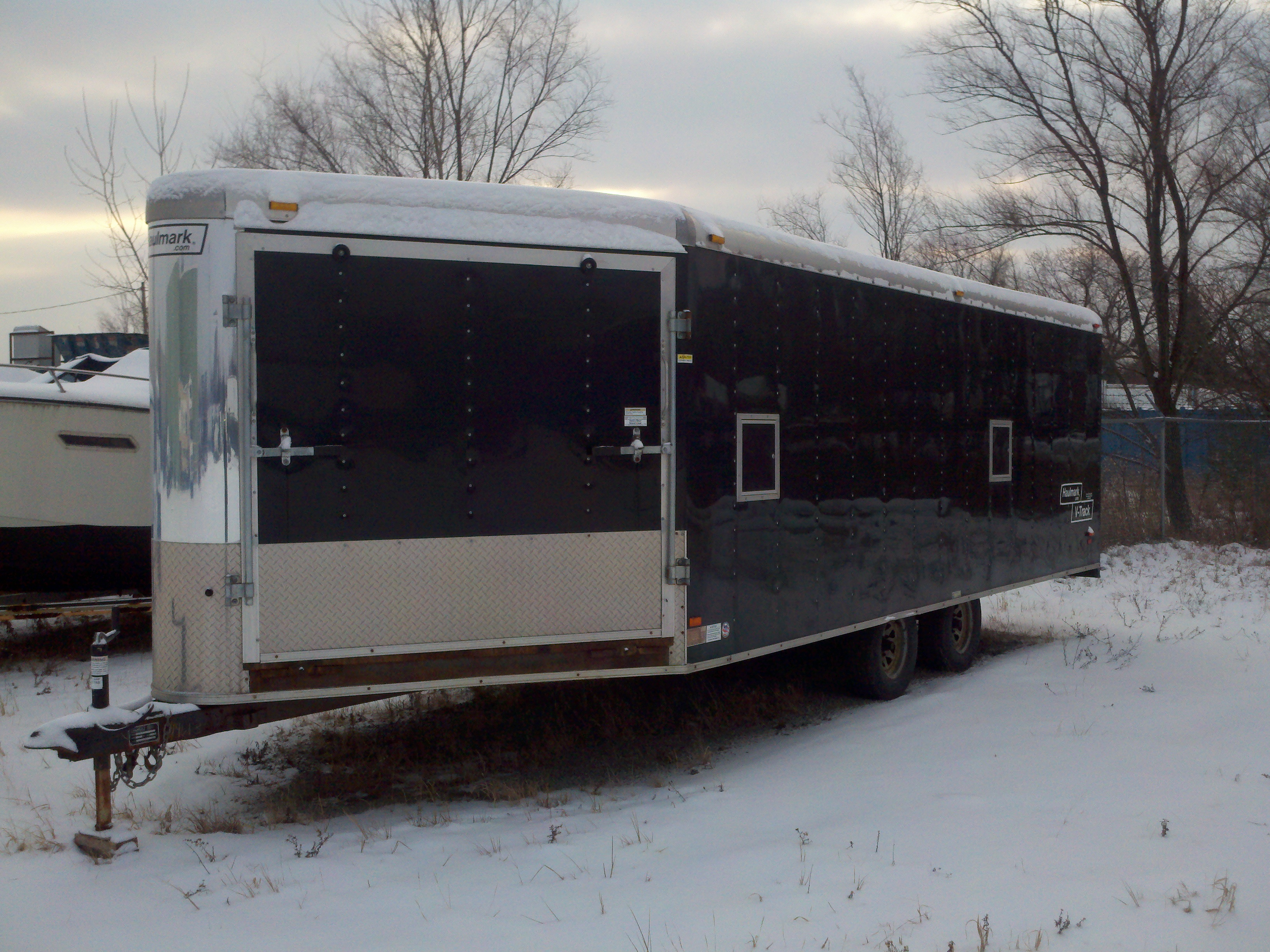 Fs Haulmark 4 Place Enclosed Trailer