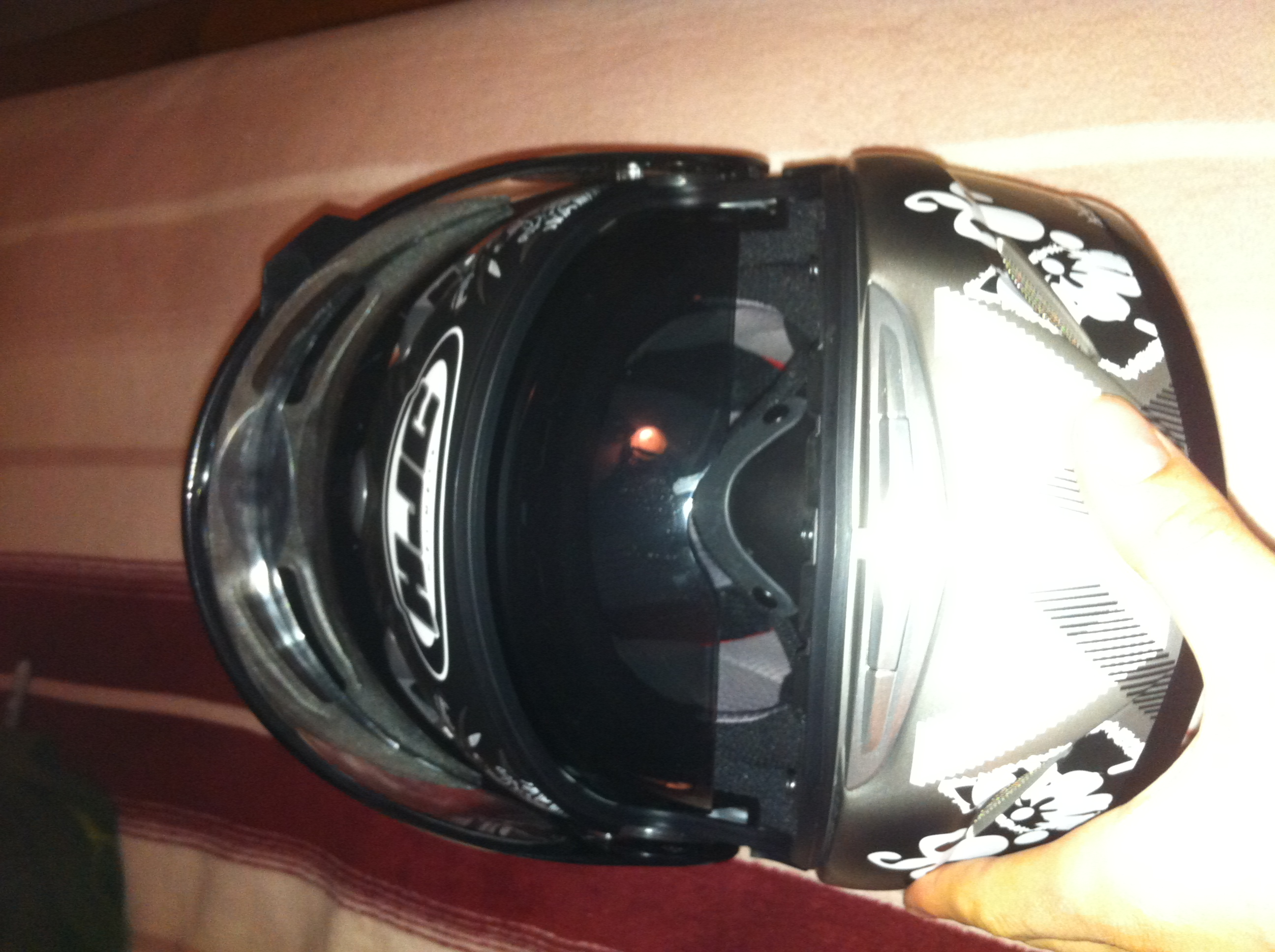 for sale hjc is 16 arkanium helmet. Black Bedroom Furniture Sets. Home Design Ideas