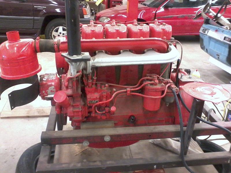 4 Cylinder Diesel Tractor Engine Help