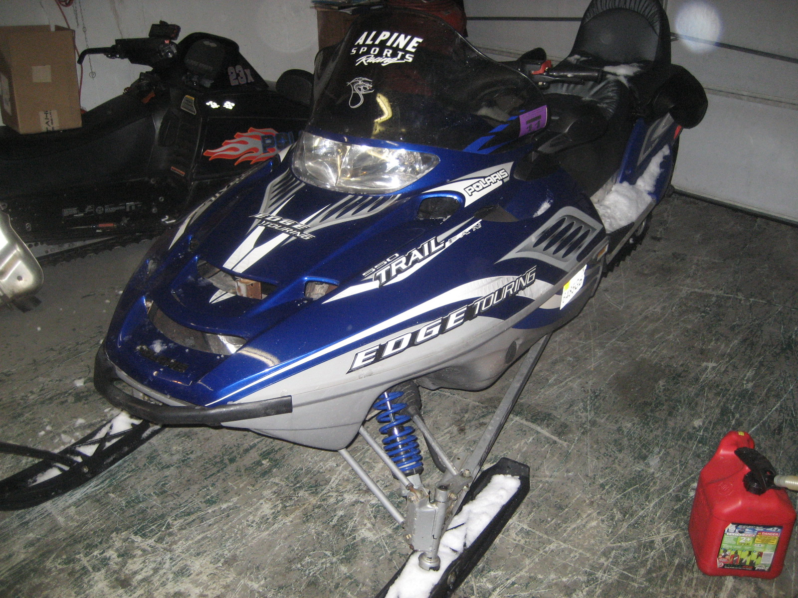 2 up snowmobile for sale by owner