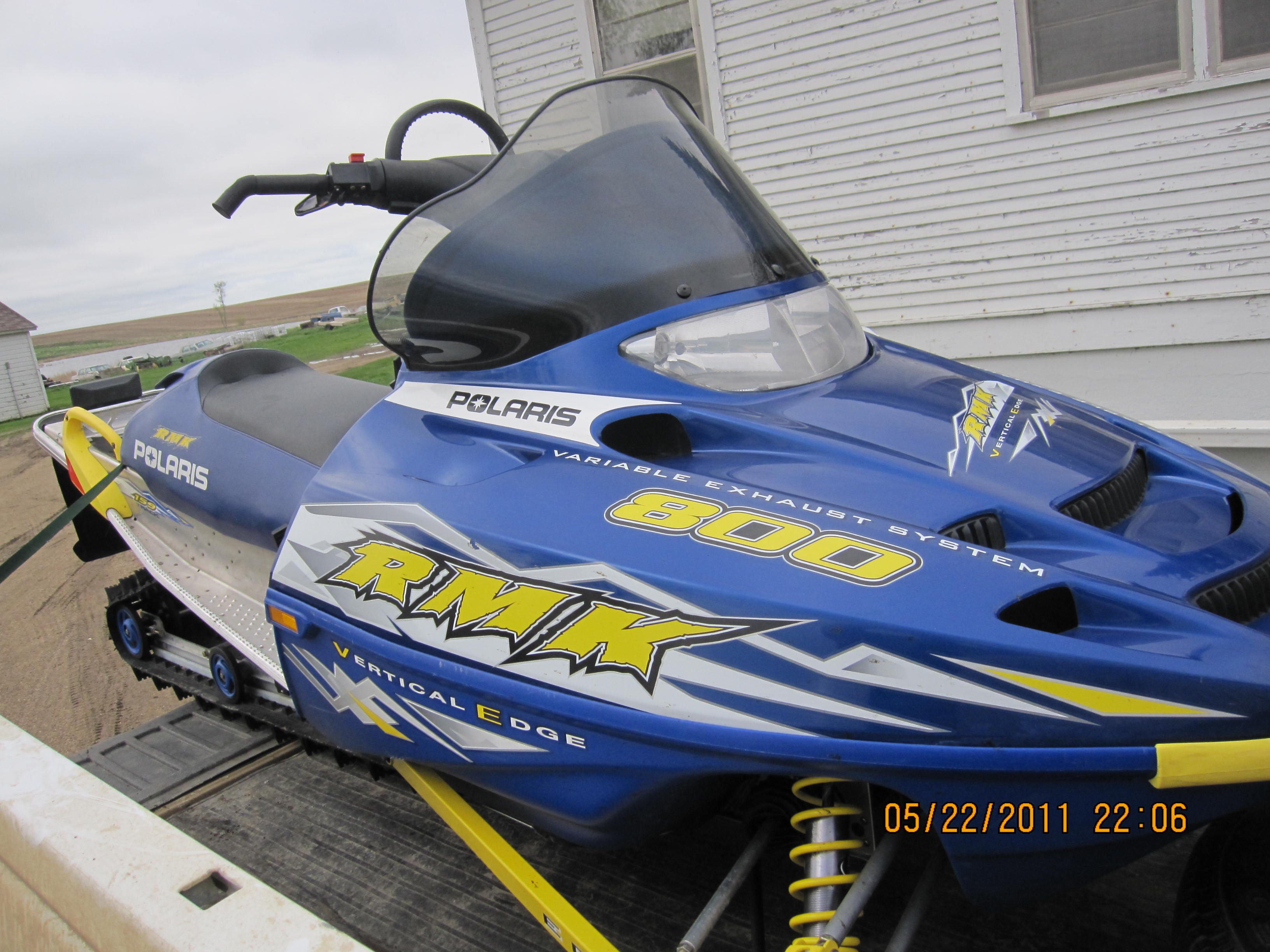 Just need some help on my 2003 rmk 800