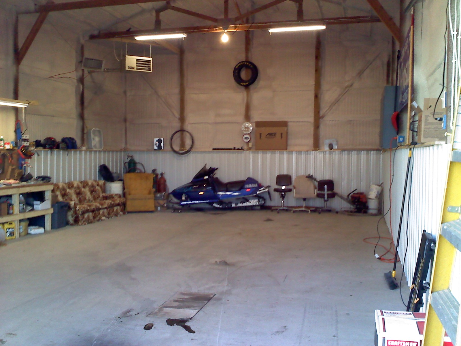New Shop and New Racecar