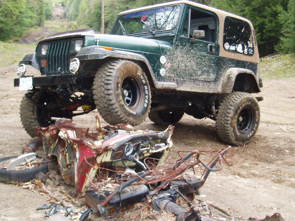 1992 Jeep Wrangler Yj Sahara