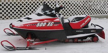 2000 Polaris Xc 500 Sp