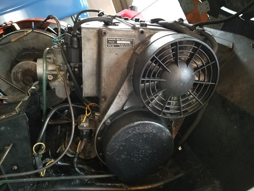 Rotax 340 Engine  Type 343  Ski