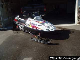 For Sale 1998 Polaris XCR 700 Low Miles