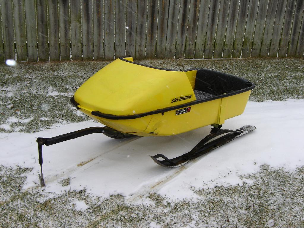 For Sale Vintage Ski-Boose Cutter Sleigh