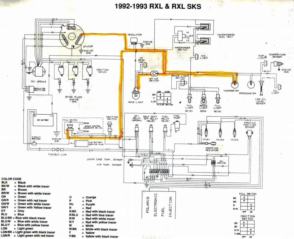Polaris Snowmobile Wiring Diagram : Polaris snowmobile ignition wiring diagram get free