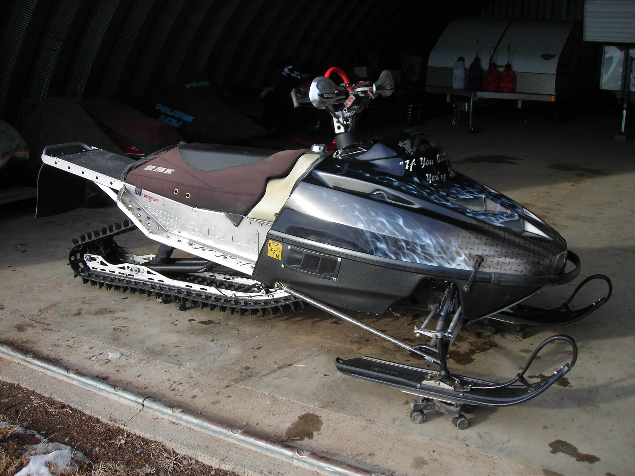 Custom Built And Extremely Lightened Polaris Rmk Rolling