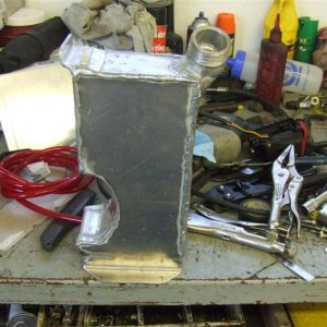 IQ oil tank on bench