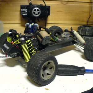 HPI rush evo - RC car