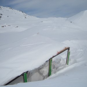 distance ramp - Chris Brown from slednecks record ramp stuck in the backcountry, things 50ft long by 18ft tall!