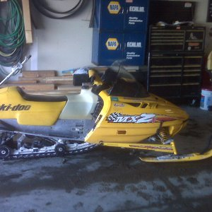 sled before chassis swap