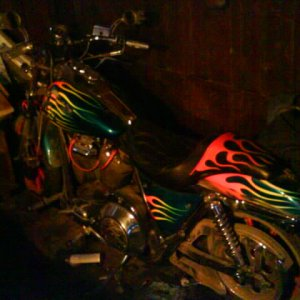 God Of Motorcycles (dads bike)