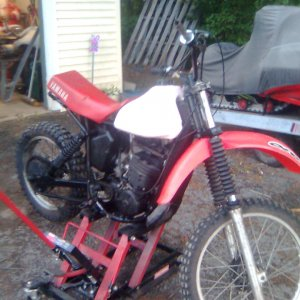 1980 Honda 250 - I know there is a yamaha seat but its a honda.