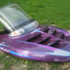 '97 Polaris Indy 440 Hood