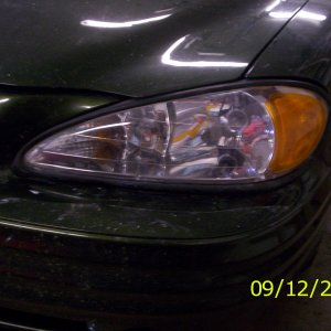 Headlight Cleaning - After